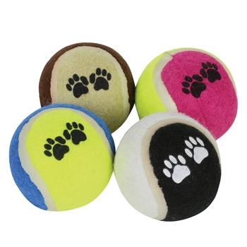 Dog Tennis Ball Set 4 Pack Misc