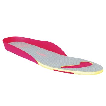 Women's Comfort Footbed Grey Bright Blush