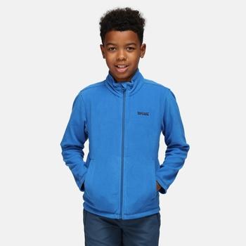 Kids' King II Lightweight Full Zip Fleece Oxford Blue Navy