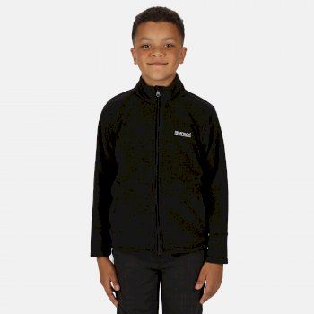 Kids' King II Lightweight Full Zip Fleece Black