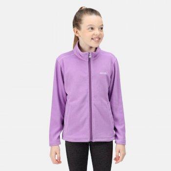 Kids' King II Full Zip Fleece Purple Sapphire