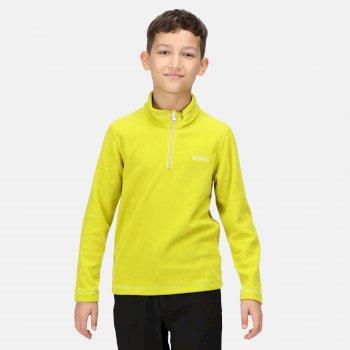 Kids' Hot Shot II Half Zip Fleece Dark Tang