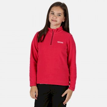 Kids Hot Shot II Half Zip Lightweight Fleece Duchess