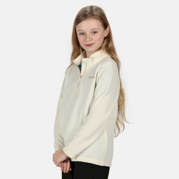 Kids' Hot Shot II Lightweight Half Zip Fleece Polar Bear
