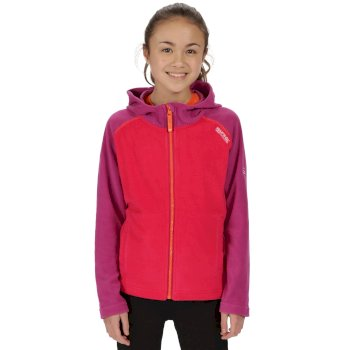 Kids Upflow Lightweight Hooded Fleece Duchess Vivid Viola