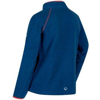 Kids Loco Half Zip Fleece Imperial Blue