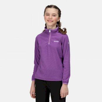 Kids' Loco Half Zip Fleece Purple Sapphire Hyacinth