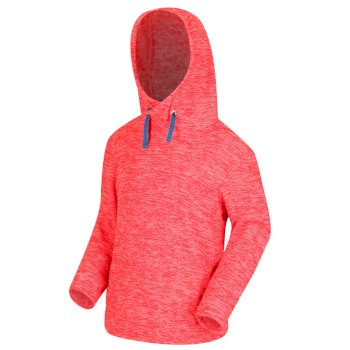 Kids' Kacie Hooded Fleece Fiery Coral