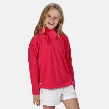 Kids' Harika Funnel Neck Velour Overhead Fleece Duchess