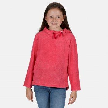 Kids' Kalina Funnel Neck Lightweight Hooded Fleece Duchess Texture