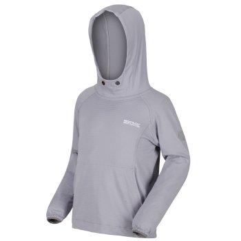 Kids' Eugina Lightweight Overhead Hooded Fleece Dapple