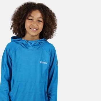 Dziecięca bluza z kapturem Eugina niebieska