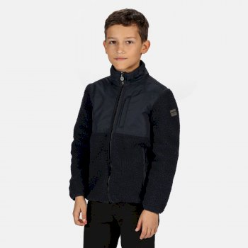 Kids' Myles Full Zip Heavyweight Fleece Navy