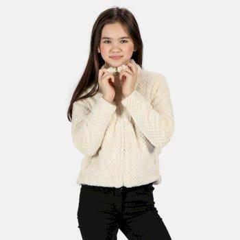 Kids' Kazumi Full Zip Fluffy Fleece Light Vanilla
