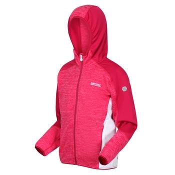 Dziecięca bluza Dissolver III różowo-biała
