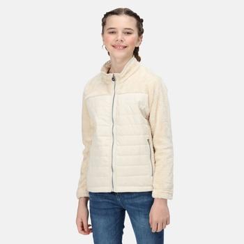 Kids' Keelan Full Zip Insulated Fleece Light Vanilla