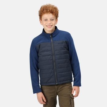 Kids' Keelan Full Zip Insulated Fleece Navy
