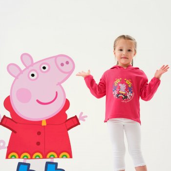 Dziecięca bluza Peppa Hoody różowa