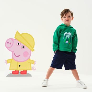 Dziecięca bluza Peppa Hoody zielona