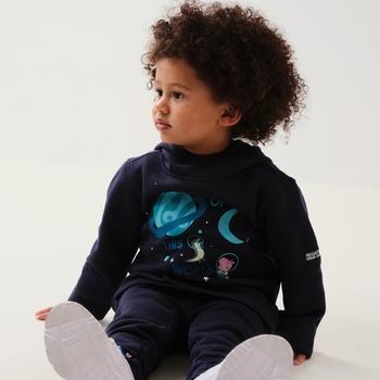Dziecięca bluza Peppa Graphic granatowa