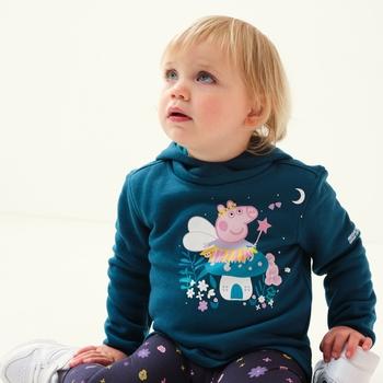 Dziecięca bluza Peppa Graphic niebieska