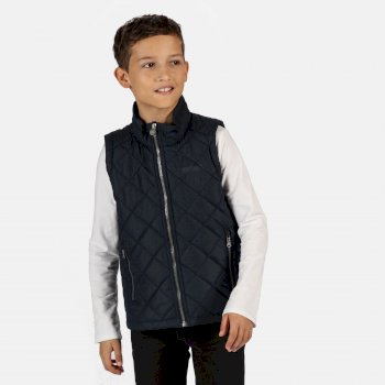 Kids' Zion Quilted Insulated Gilet Navy