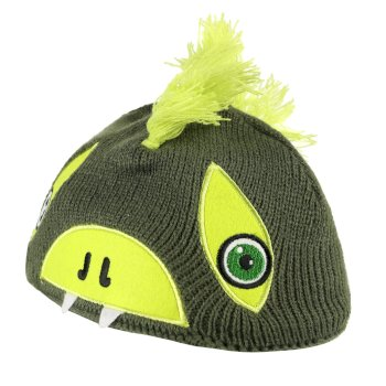 Animally II Acrylic Knit Hat Cypres Lime Punch