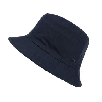 Kids' Crow Coolweave Cotton Canvas Hat Navy