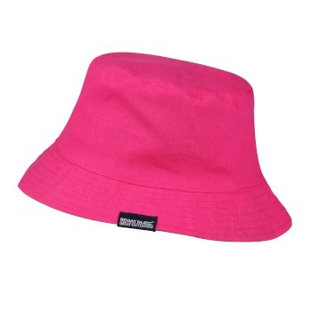 Kids' Crow Coolweave Cotton Canvas Hat Duchess Pink