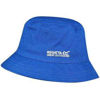 7d05eb7c5cc Kids Crow Cool Weave Cotton Canvas Hat Skydiver Blue