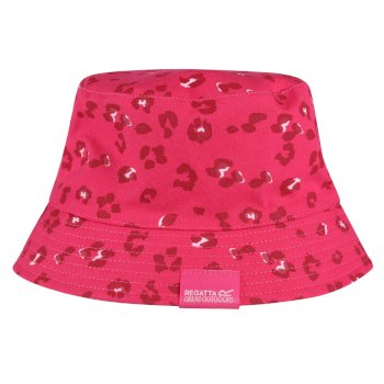 Kids' Crow Coolweave Cotton Canvas Hat Duchess Animal Print