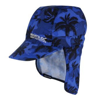 76d584066 Kids' Protect Sunshade Neck Protector Cap Oxford Blue Camo Print