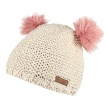 Hedy Lux Acrylic Knit Hat Light Vanilla