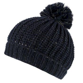 Luminosity II Reflective Knit Bobble Hat Navy