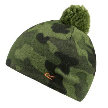 Fallon Printed Camo Fleece Hat Cypress Camo
