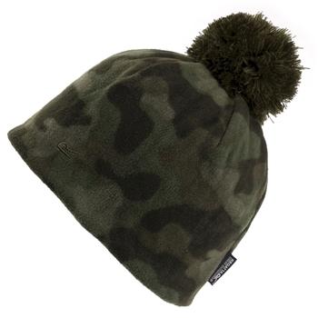 Dziecięca czapka Fallon ciemne khaki