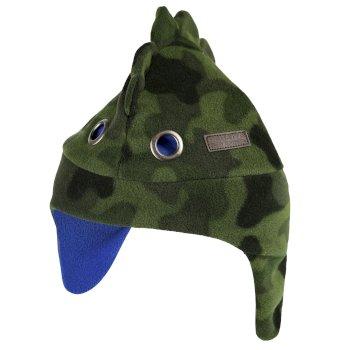 Tarak Trapper Fleece Hat Dark Khaki Camo