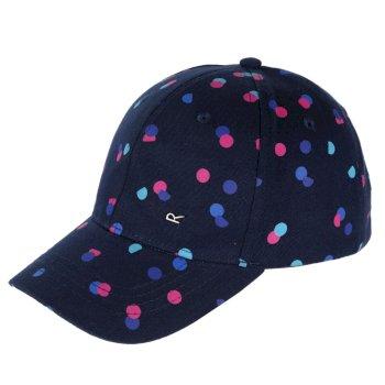 5073d1eb0ce26 Kids  Cuyler Baseball Cap II Navy Polka Dot