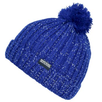 Kids' Luminosity III Reflective Bobble Hat Bright Royal