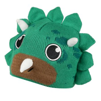 Kids' Animally III Knitted Beanie Hat Jelly Bean Dinosaur
