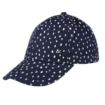 Kids' Cuyler III Cap Navy Dot