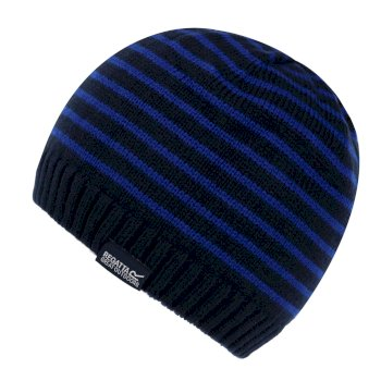 Kids' Tarley Fleece Lined Knitted Hat Navy Royal