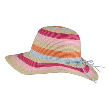 Kids' Mayla Paper Straw Sun Hat Multi Stripe