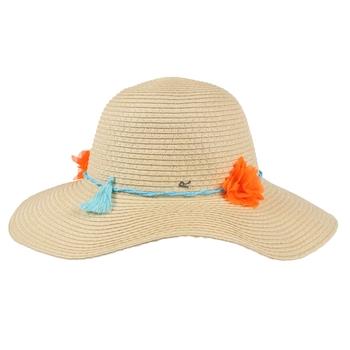 Kids' Mayla Paper Straw Sun Hat Calico Cream