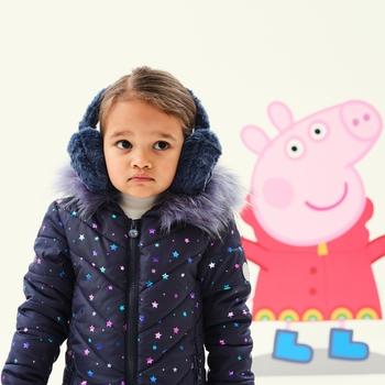 Peppa Pig Fluffy Ear Muffs Gulfstream