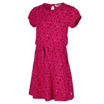 Kids' Catriona Short Sleeved Dress Duchess Animal Print