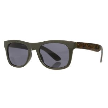 Kids' Amari Preppy Round Sunglasses Racing Green Camo