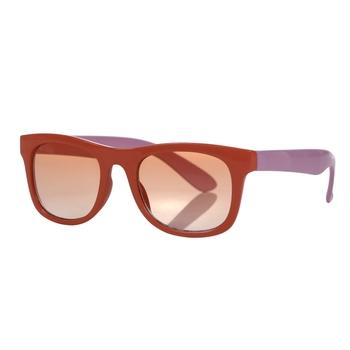 Kids' Amari Preppy Round Sunglasses Fusion Coral Aruba Blue