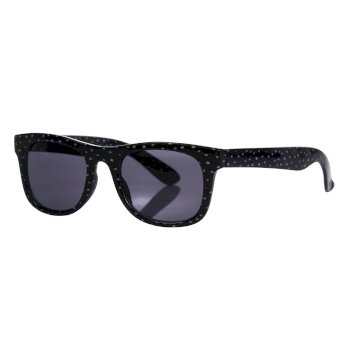 Kids' Amari Preppy Round Sunglasses Navy Dot