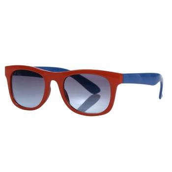 Kids' Amari Preppy Round Sunglasses Amber Glow Nautical Blue